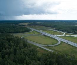 Трасса «Скандинавия» до обхода Выборга в Ленинградской области станет шестиполосной до конца 2024 года