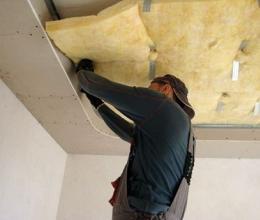 Звукоизоляция потолка: выбираем материалы